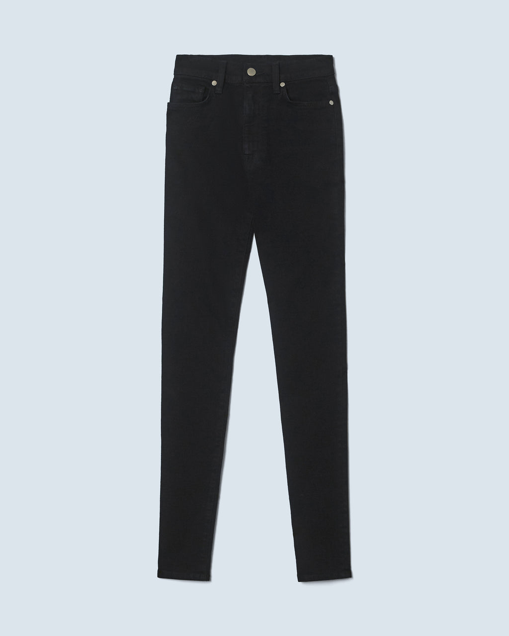 The Ultra High Rise Skinny Jean In Black