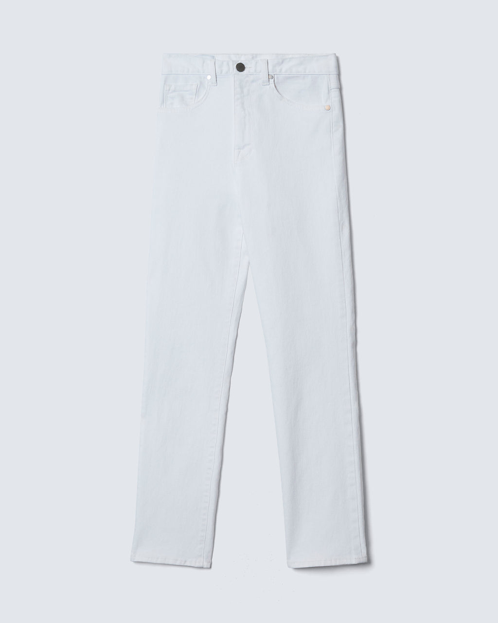 The Ultra High Rise Skinny in Pure White