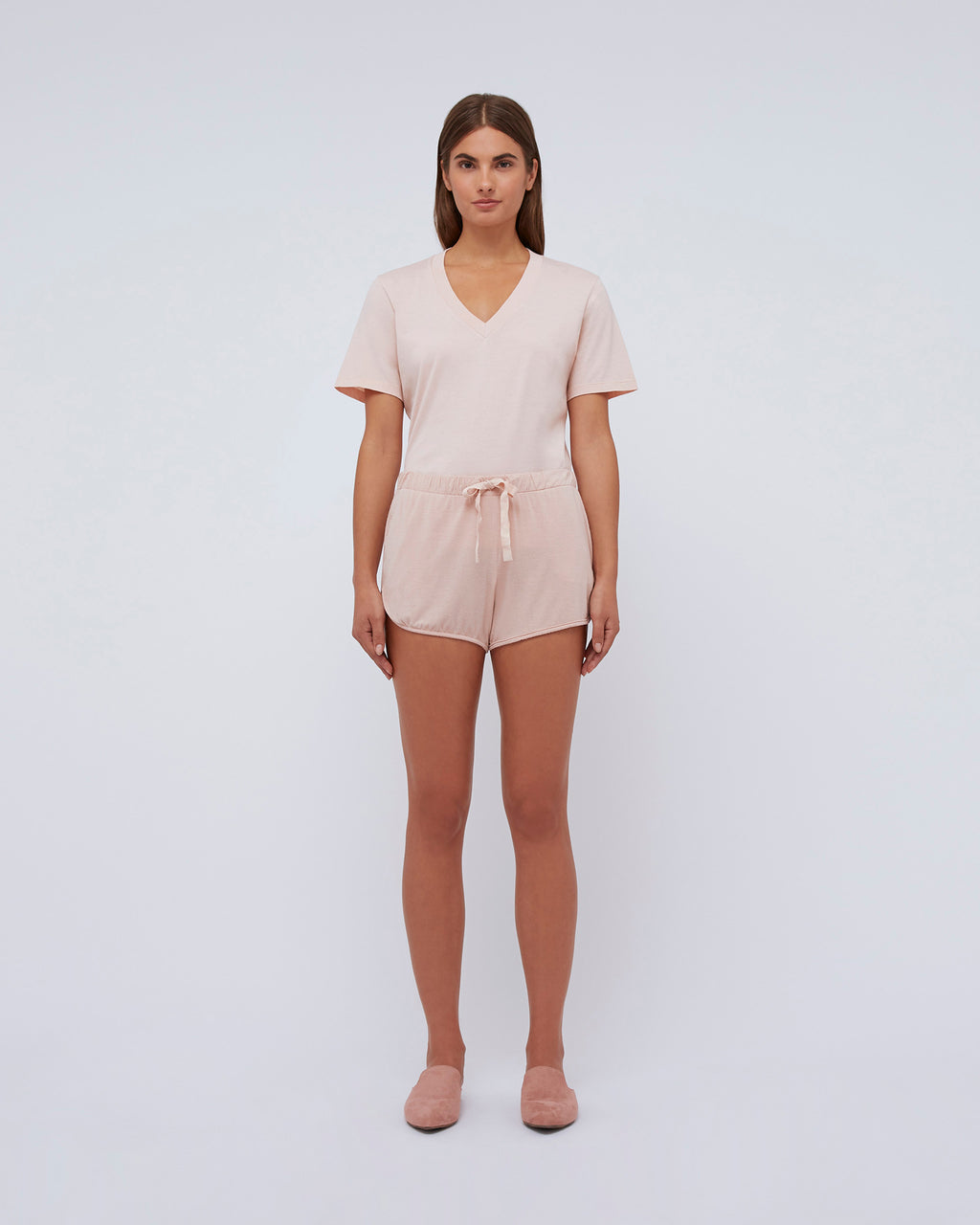 The Dolly Short In Peachskin