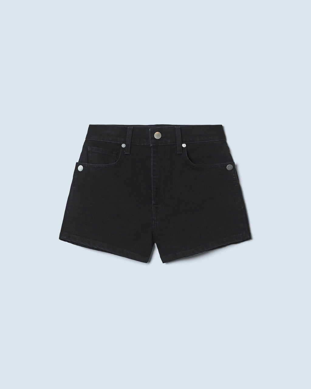 The Brie Short in Carbon Black