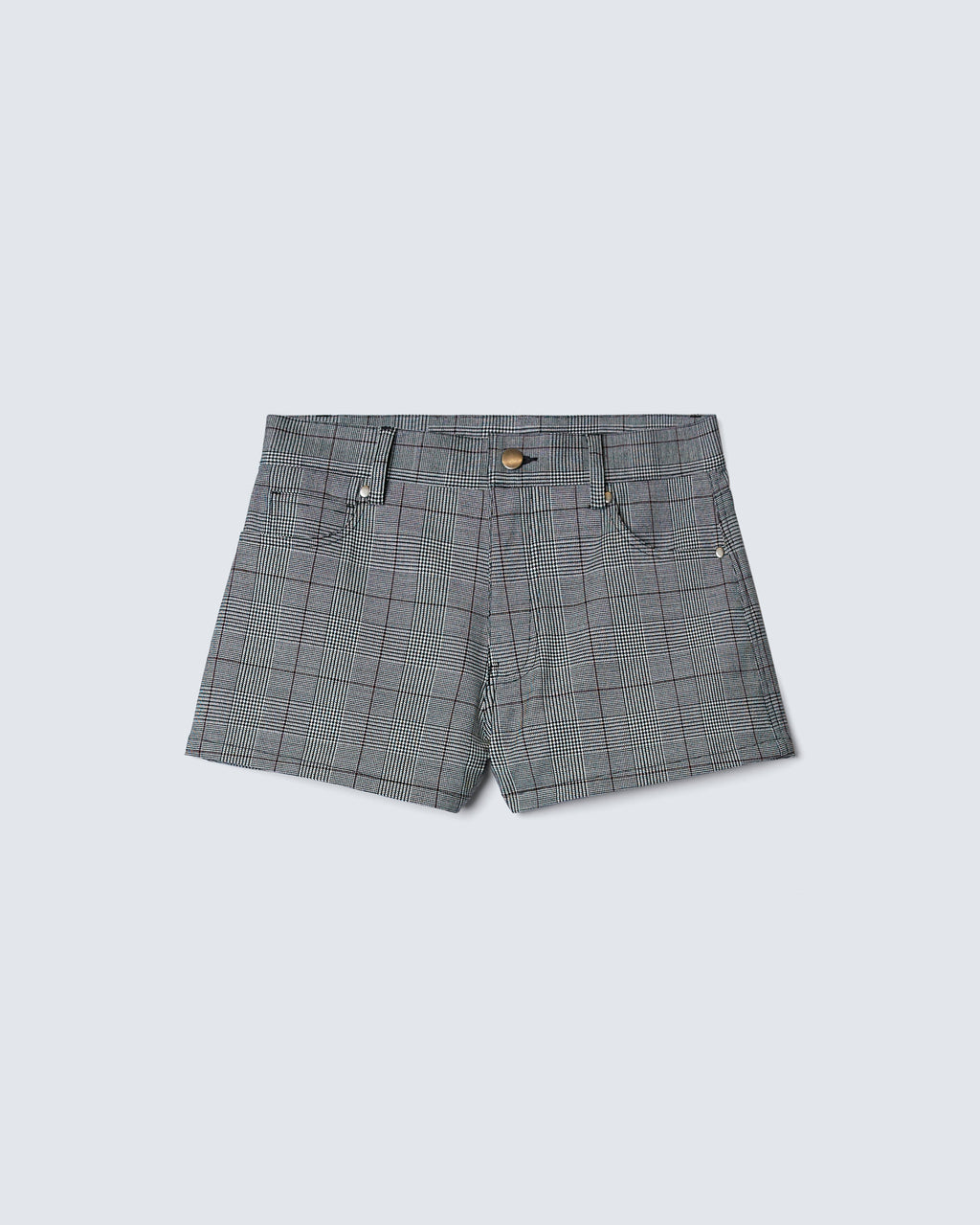 The Brie Short in Glen Check