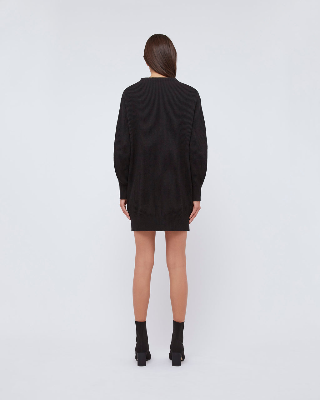 The Freja Dress In Black