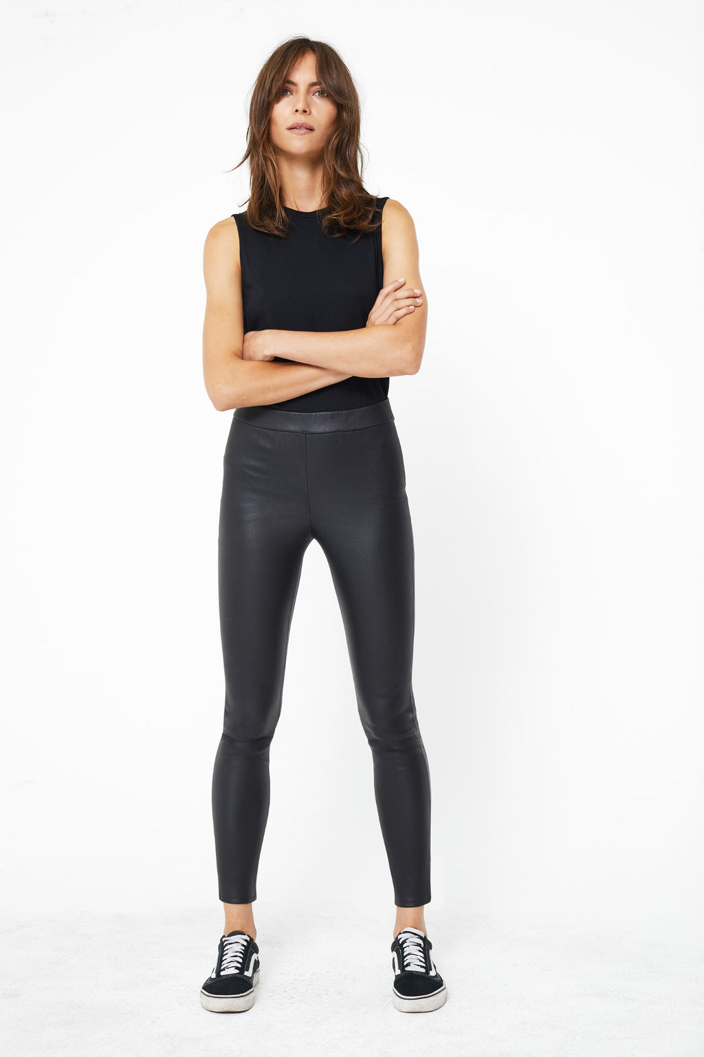 The Hailey Legging in Vintage Black