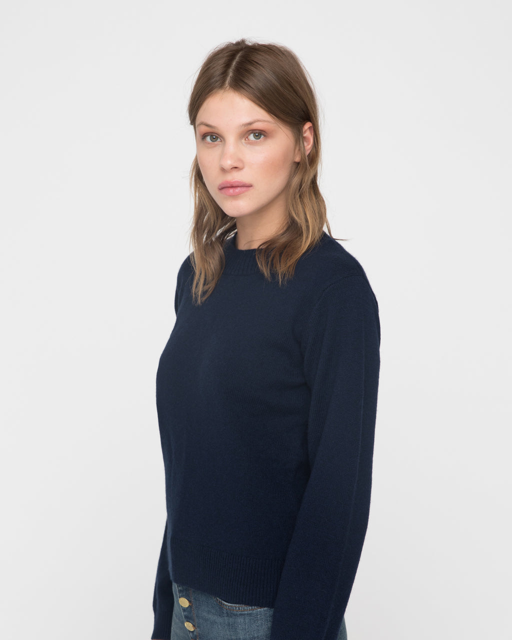 The Harvey Sweater in Midnight