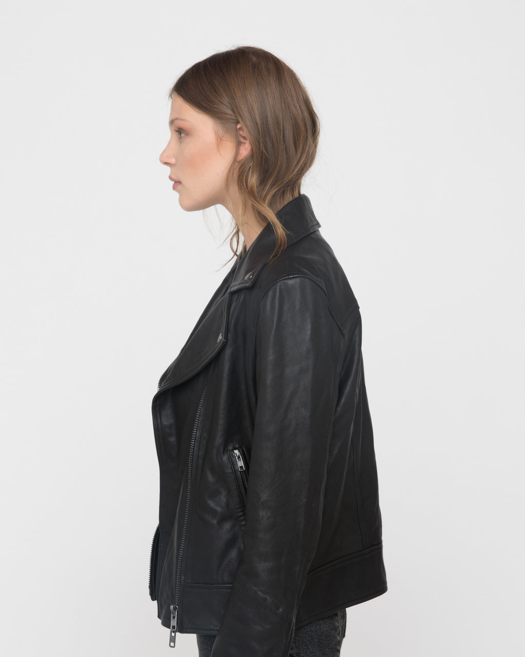 The Flint Jacket in Black