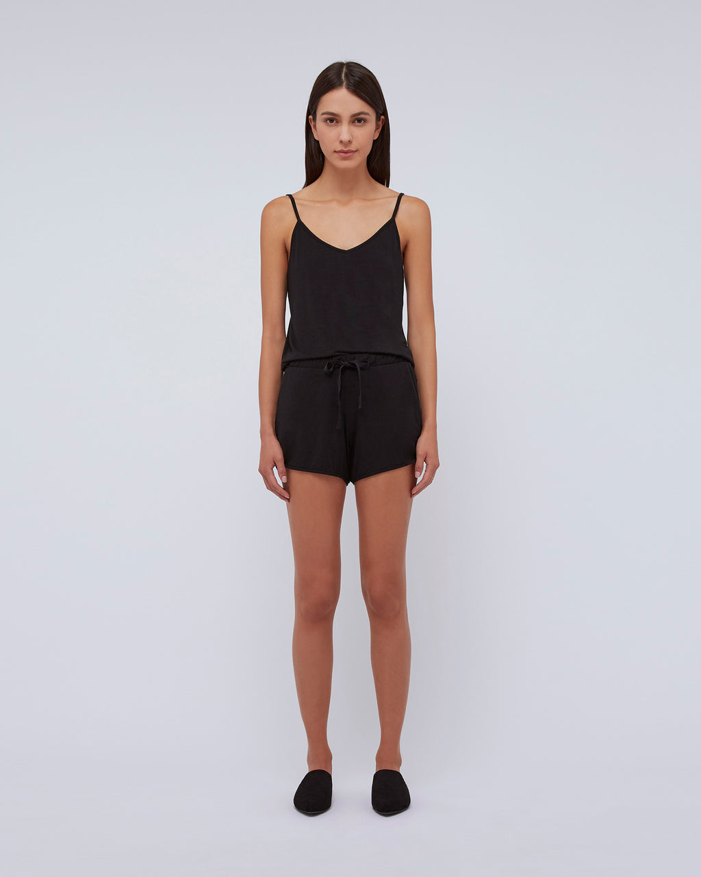 The Sasha Tank In Black