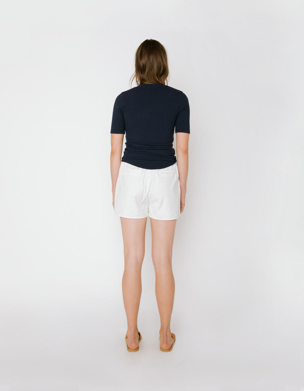 The Sabina Tee in Navy