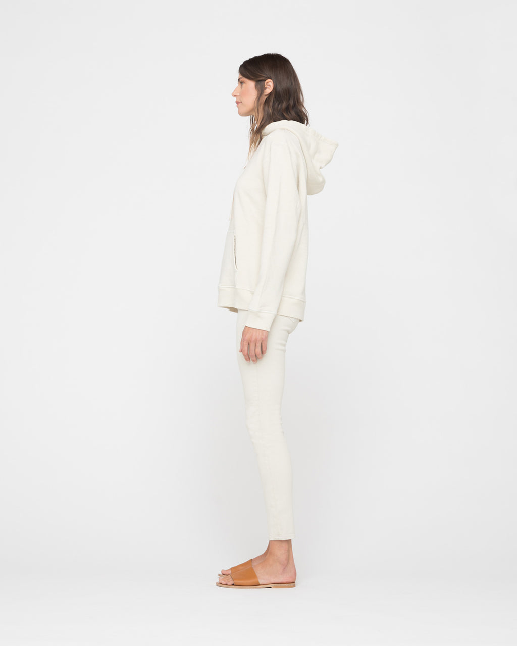 The Mylie Sweatshirt in Almond