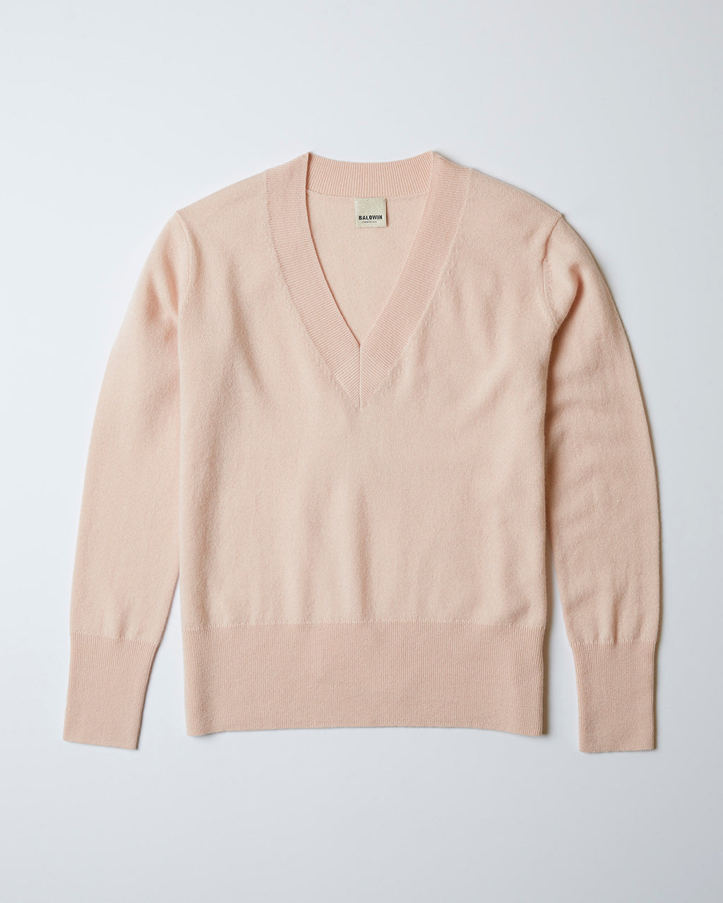 The Lana Sweater In Peachskin