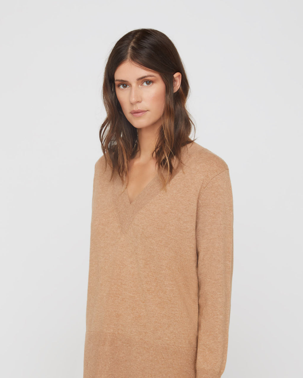 The Lana Sweater in Wheat