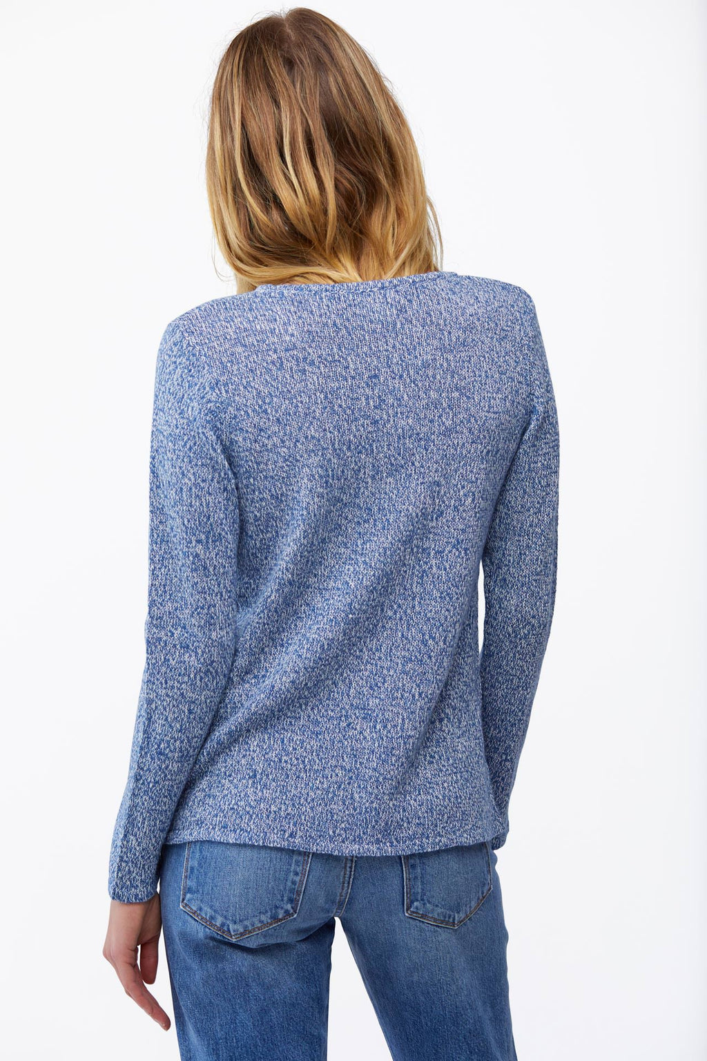 The Laurel Sweater in Marine