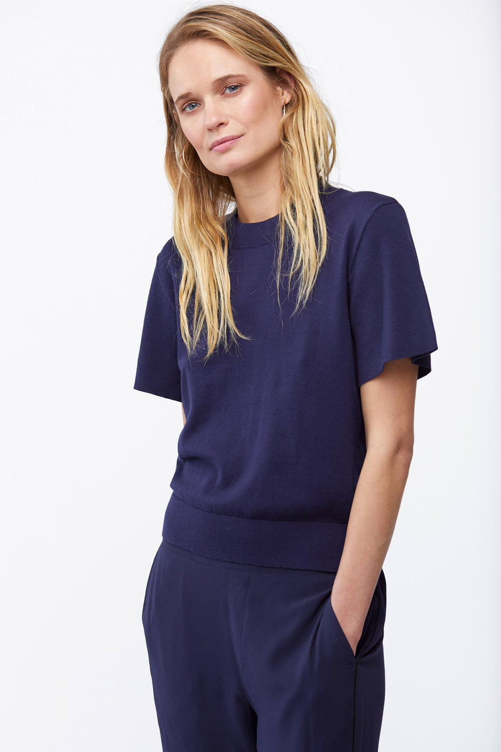 The Addie Sweater in Navy