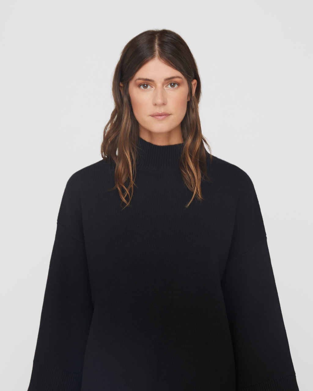 The Winona Sweater in Black