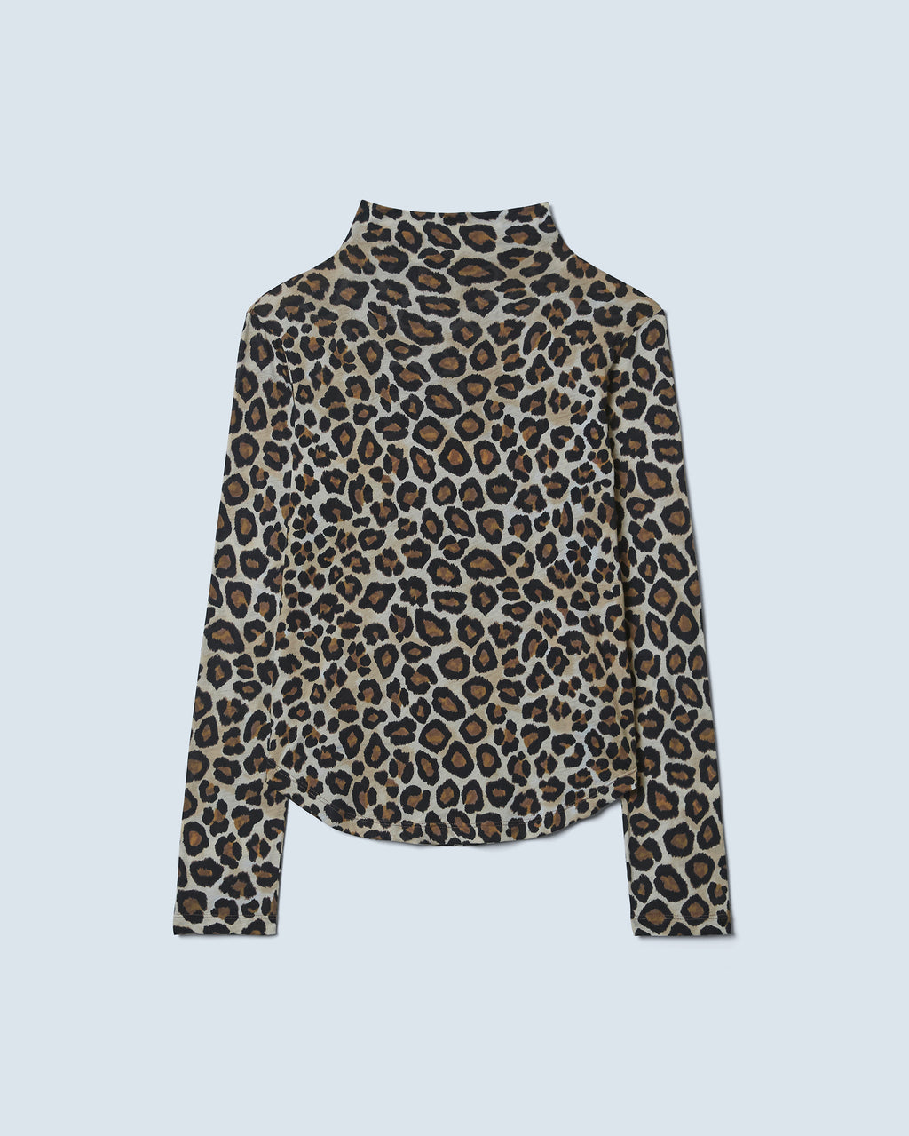 The Blair Top in Leopard Multi