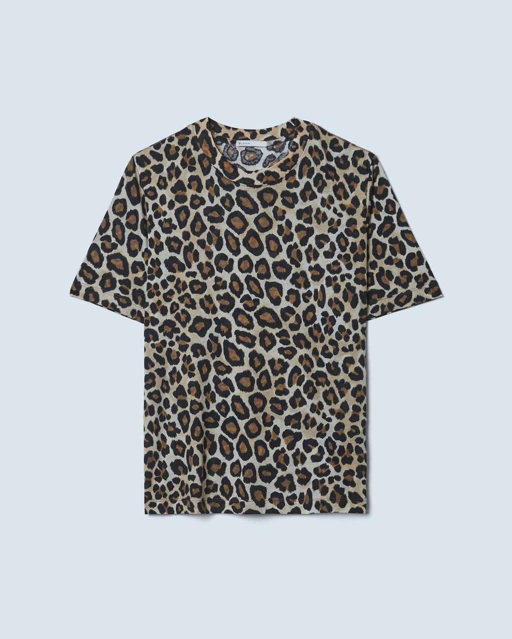 The Iris Tee in Leopard Multi