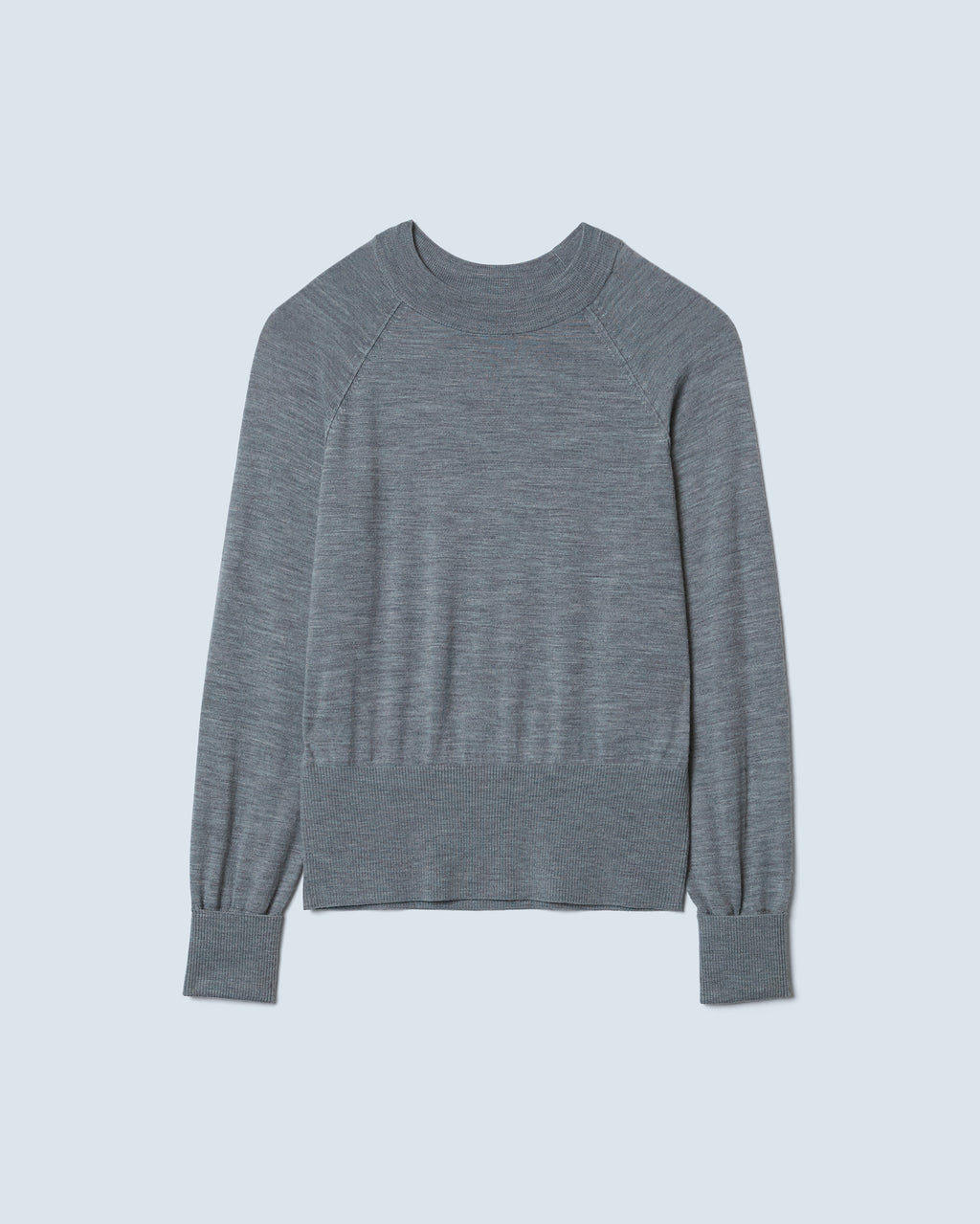 The Grove Sweater in Heather Grey