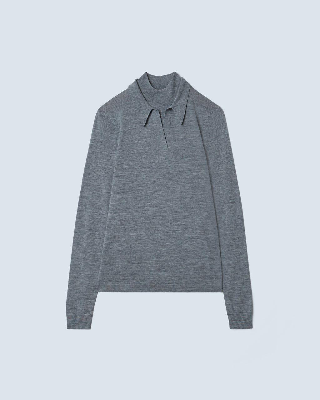 The Gia Sweater in Heather Grey