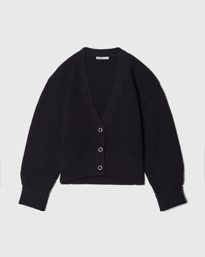 The Sparrow Cardigan in Black