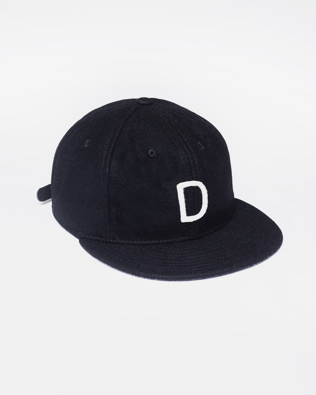 The Dallas Hat Strapback in Black/White