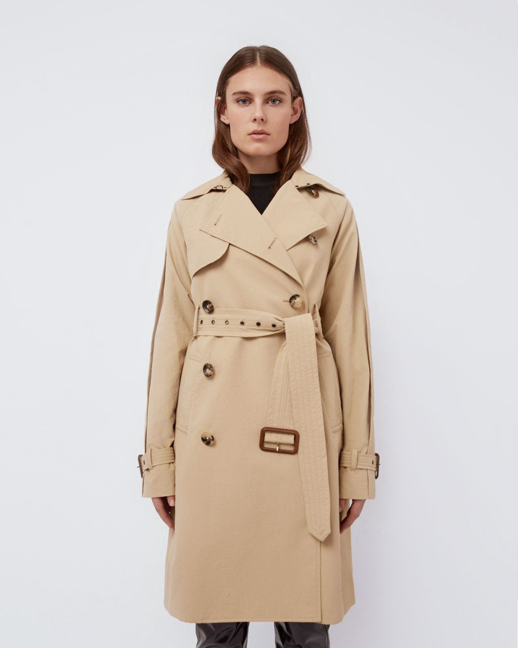 The Sterling Trench in Sepia