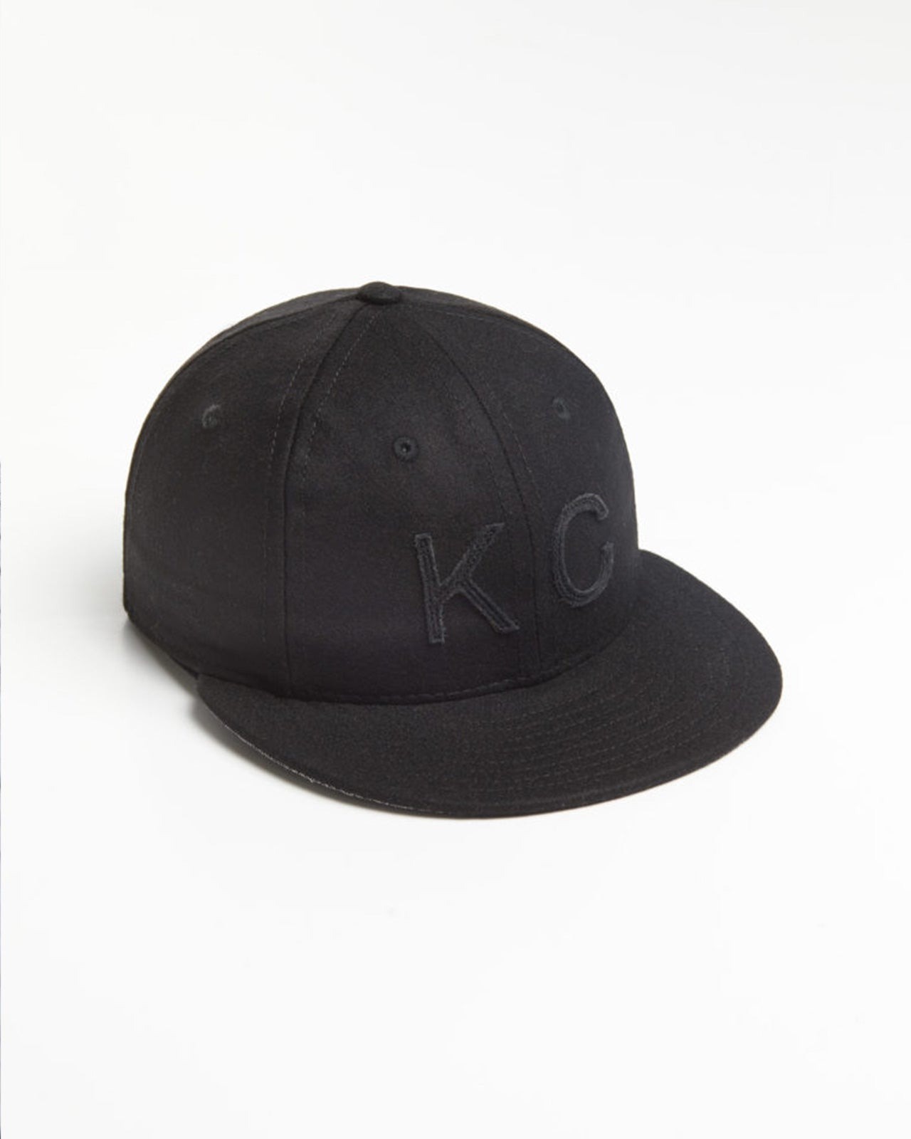 The KC Hat in Black/Black