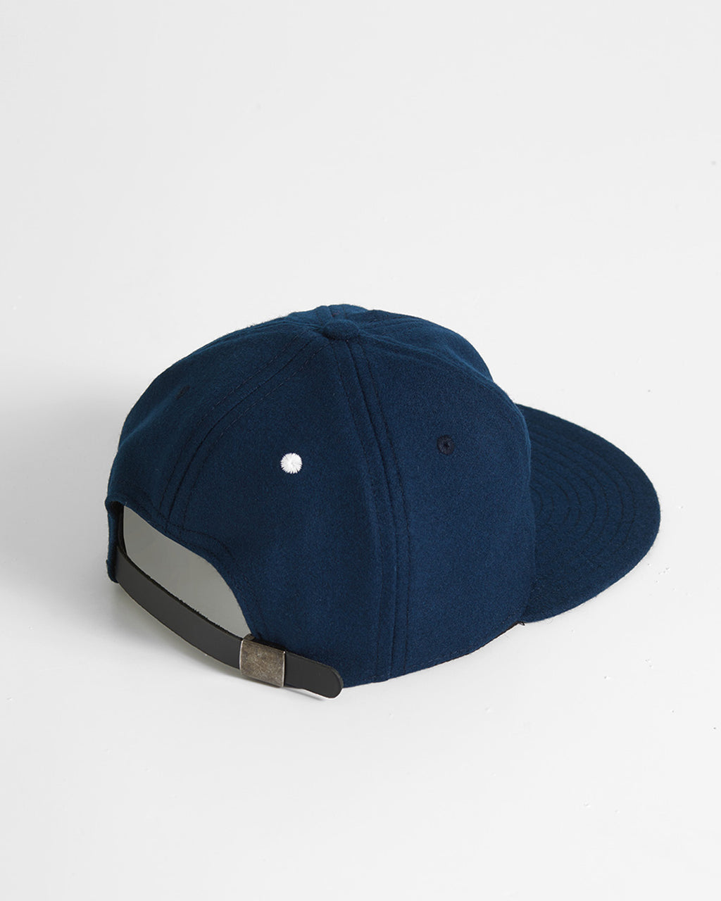 The KC Hat Strapback in Navy/White