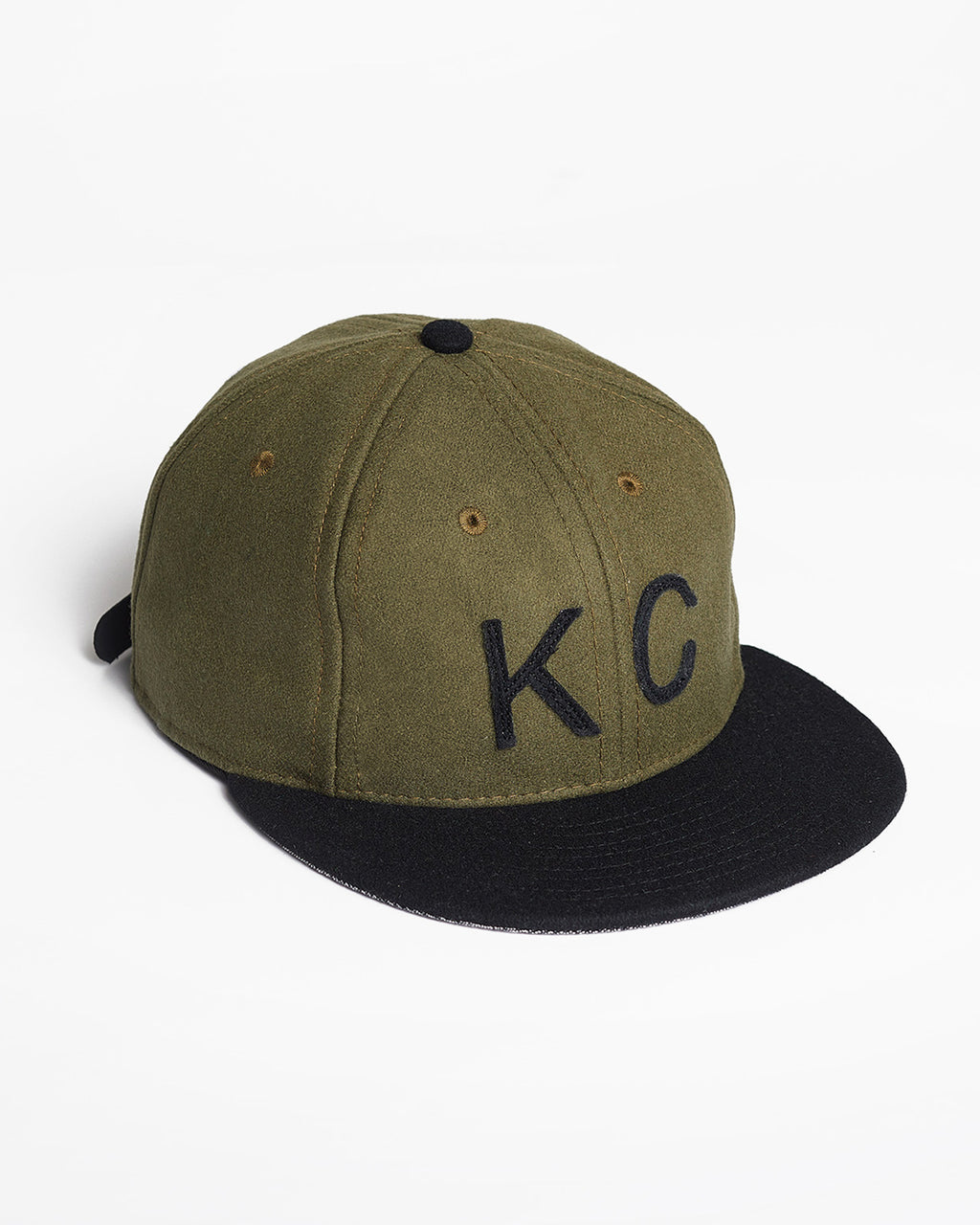 The KC Hat Strapback in Olive/Black