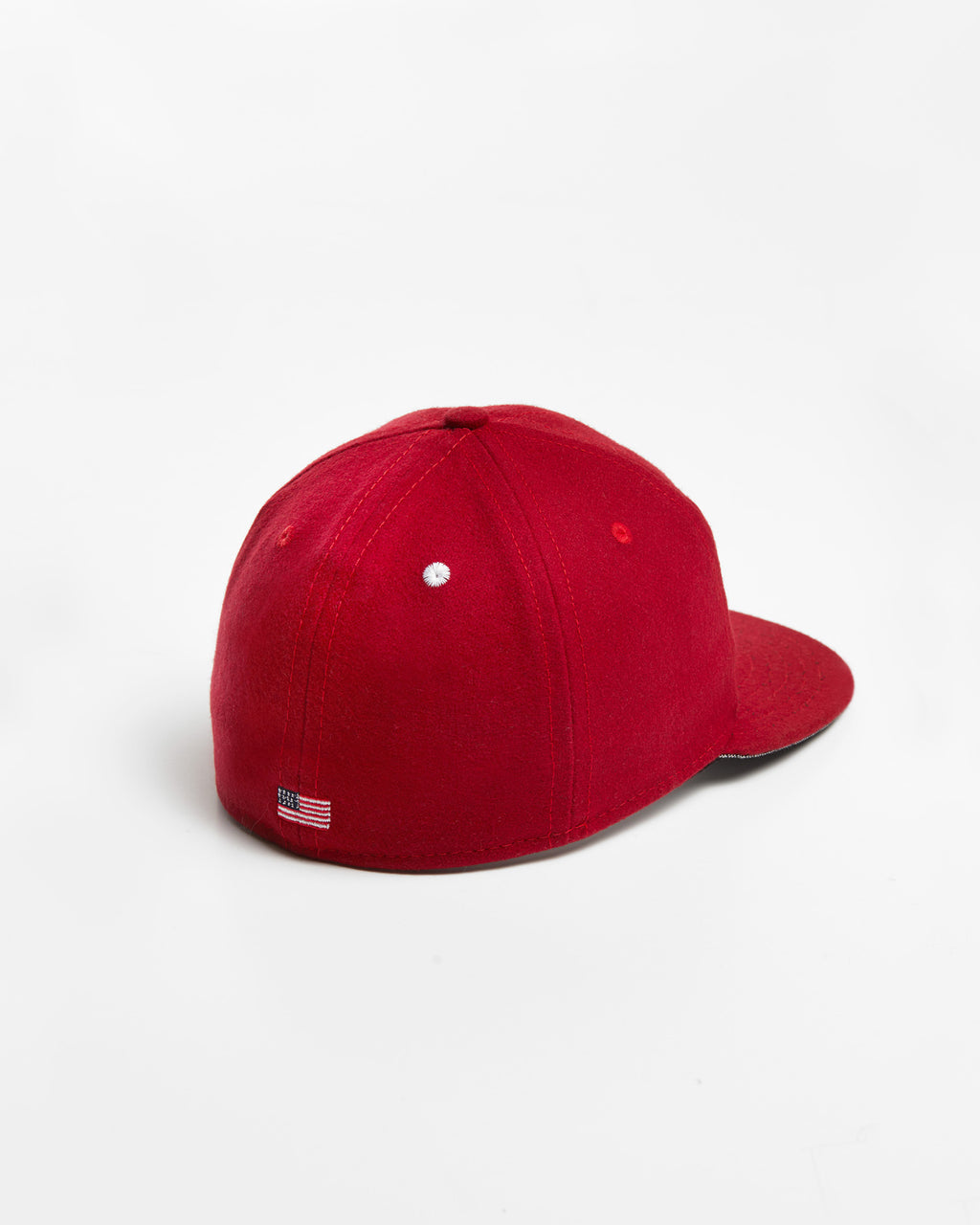 The KC Hat in Red/White