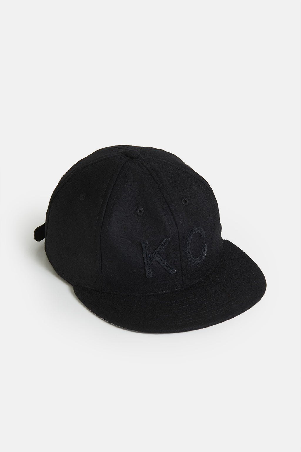 The KC Hat Strapback in Black/Black
