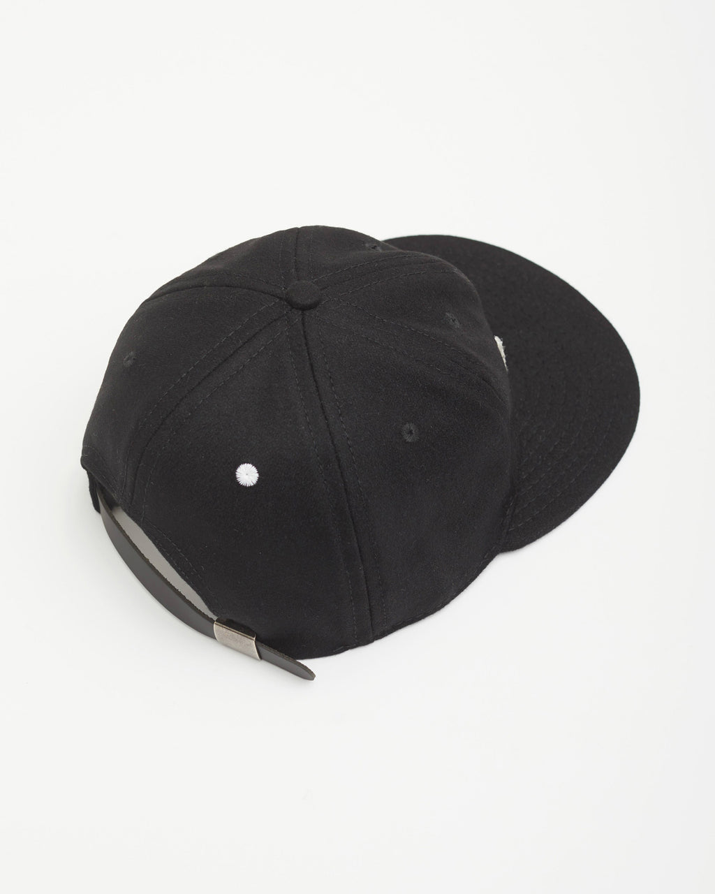 The LA Hat Strapback in Black/White