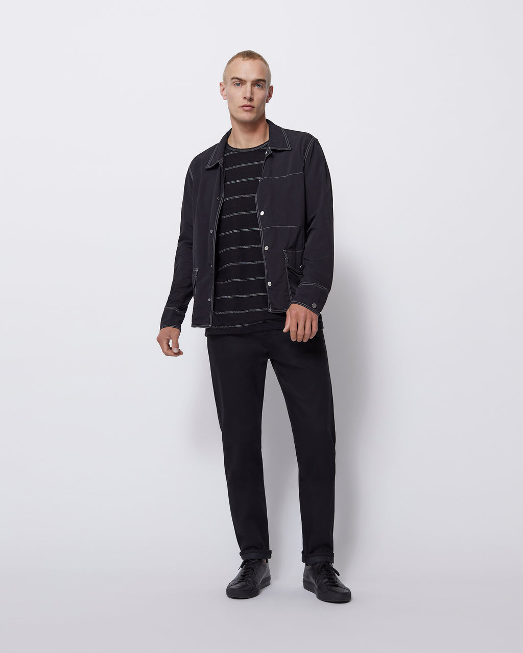 The Garrick Jacket in Black