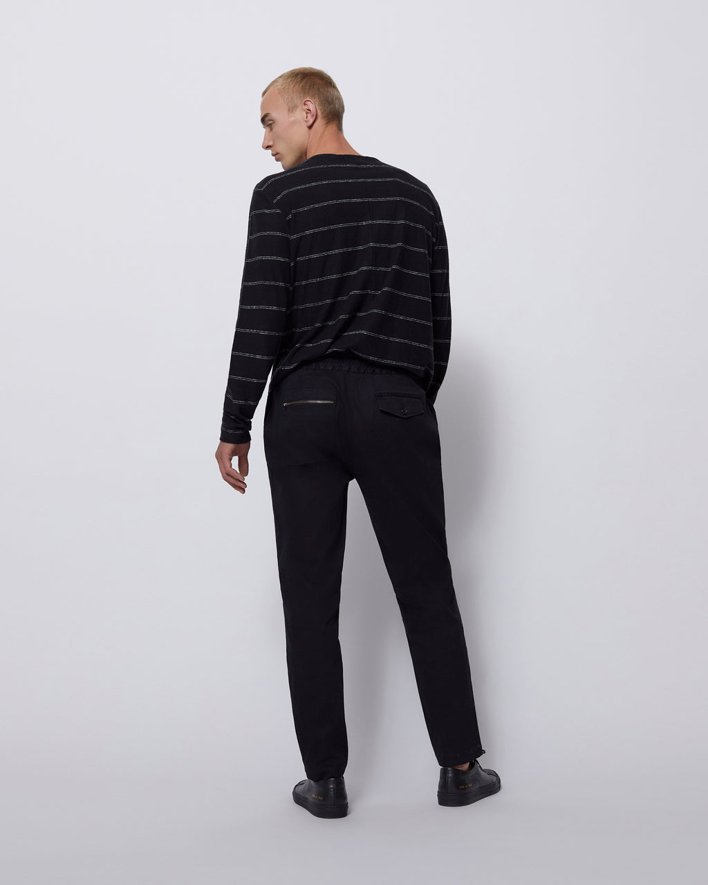 The Wakeman Pant in Washed Black