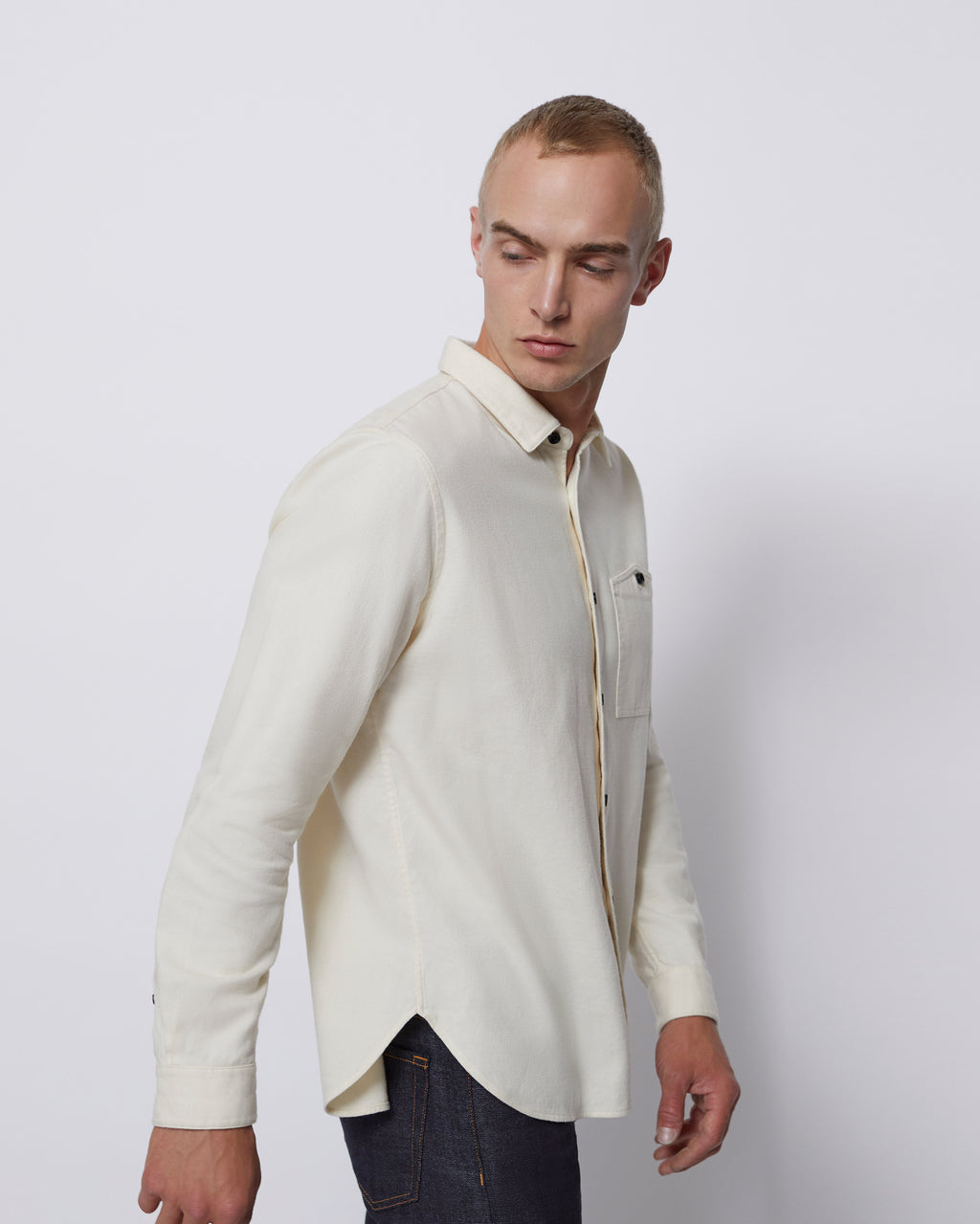 The Mori Shirt in Off White