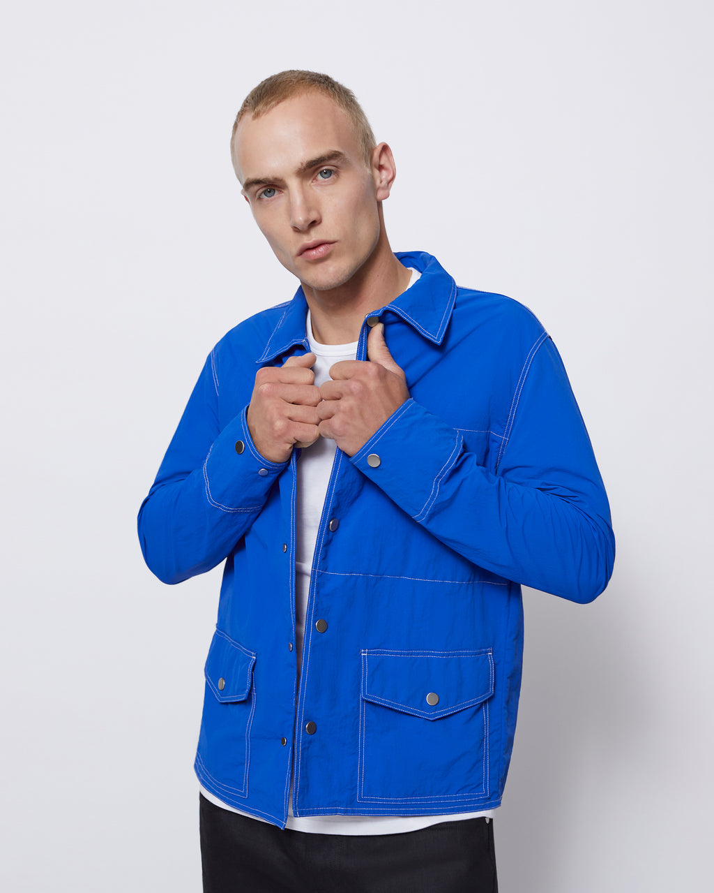 The Garrick Jacket in Royal Blue