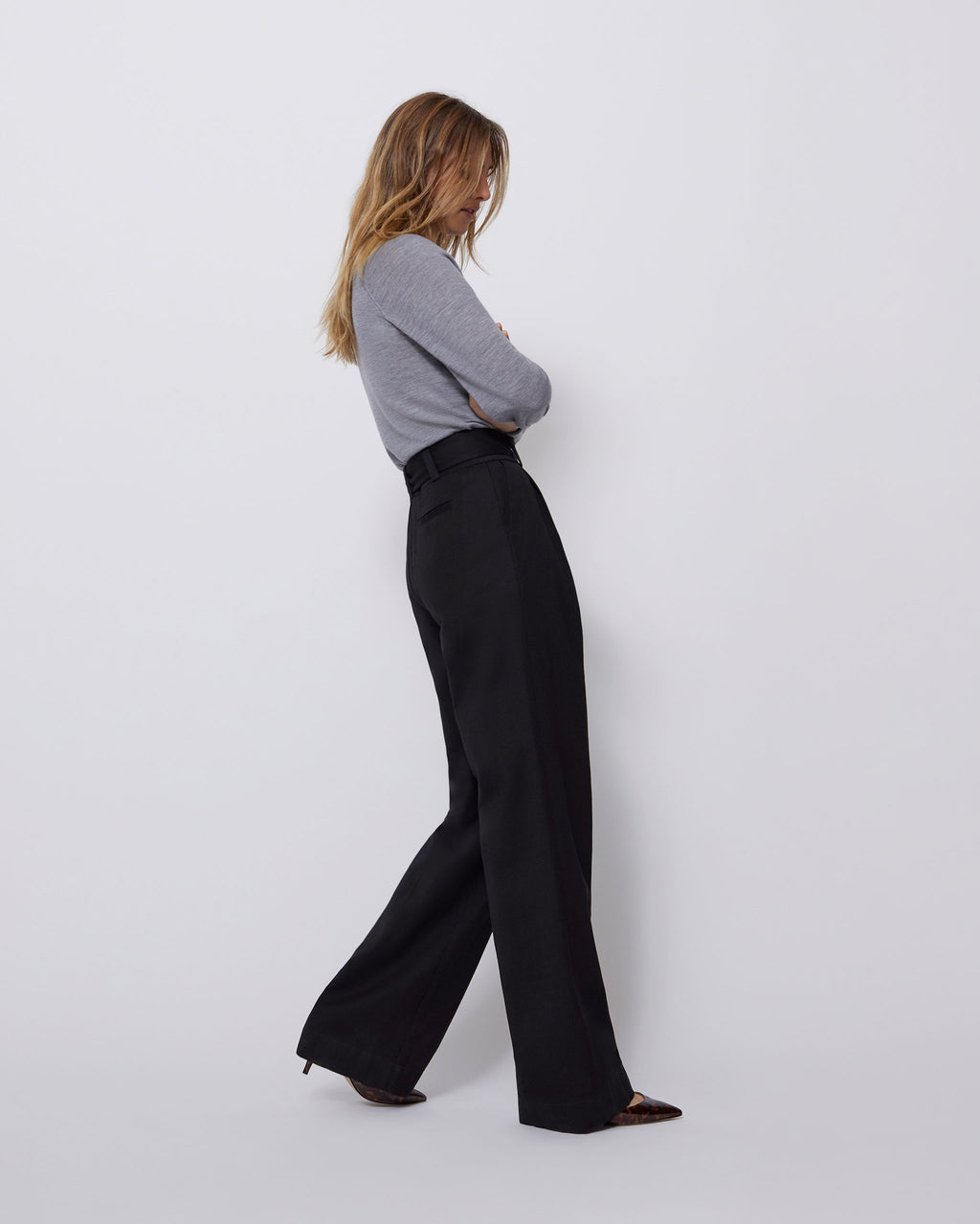 The Harbor Pant in Black