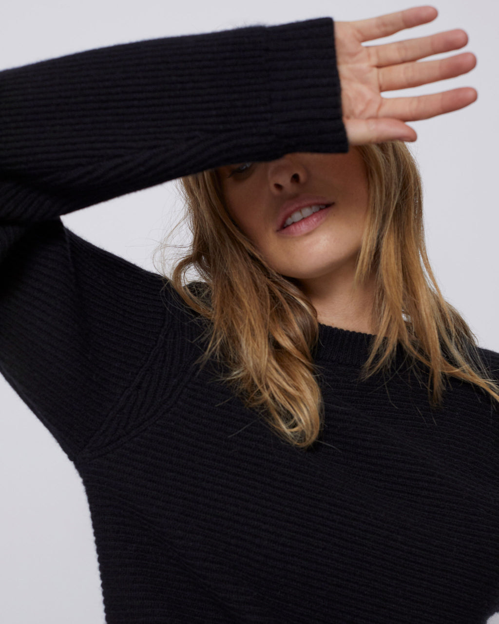 The April Sweater in Black