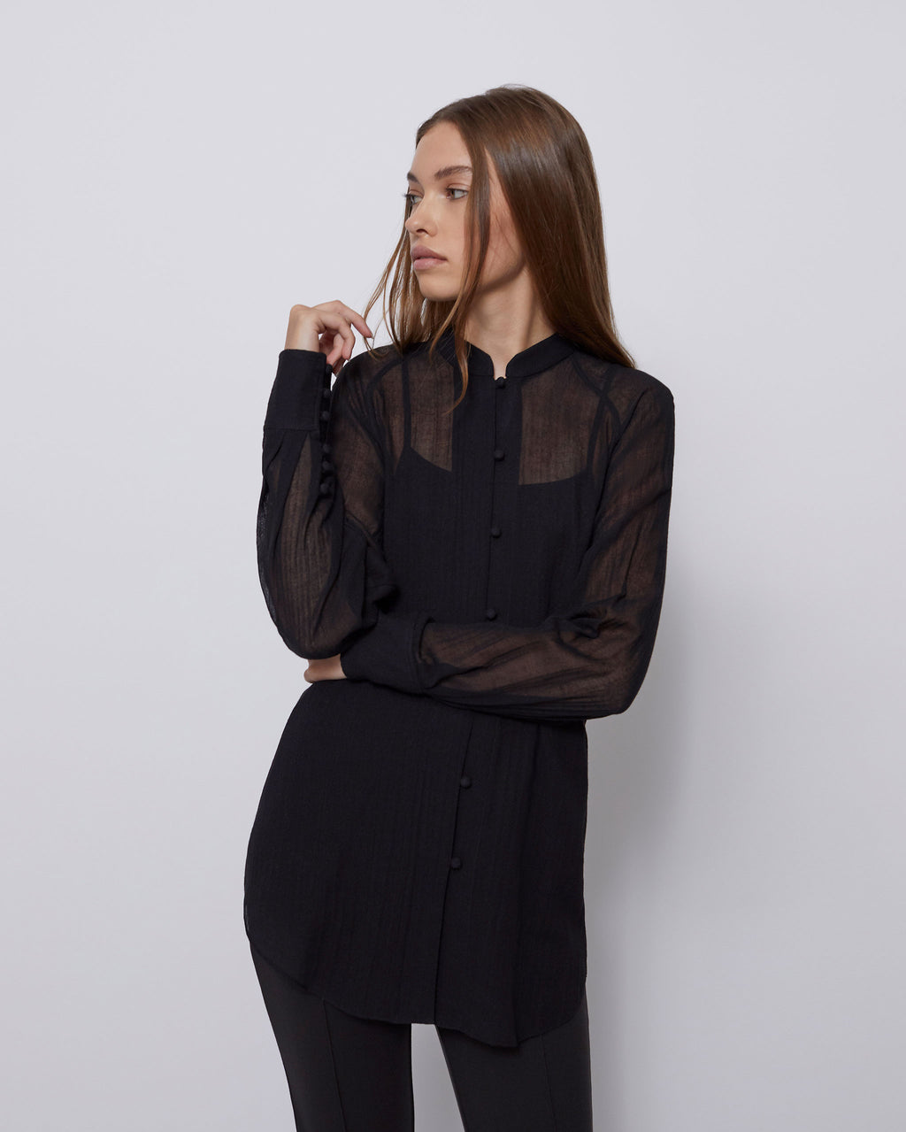 The Aiden Top in Black