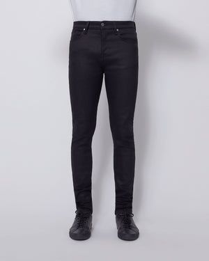 The Modern Skinny Jean in Black Stretch Selvedge
