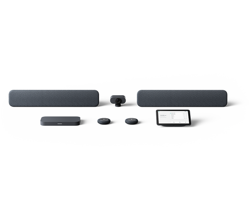Lenovo Series One Google Meet Hardware Kit - Large Room - Charcoal