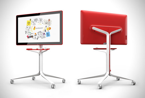 Google Jamboard (rolling stand not included)