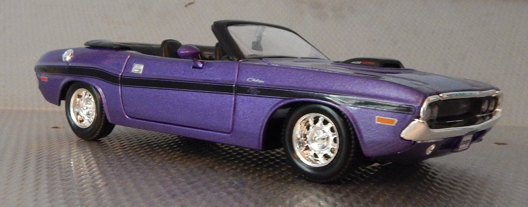 1970 Dodge Challenger R/T Convertible 1/24