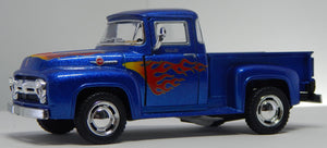1956 Ford F-100 Pickup Truck w/Flames 1/32 Scale
