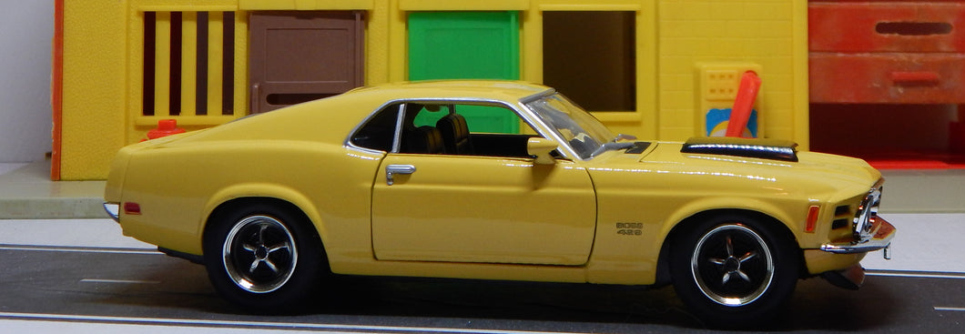 1970 Ford Mustang Boss 429 Hardtop 1/24 Scale