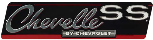 Chevelle SS Tin Sign