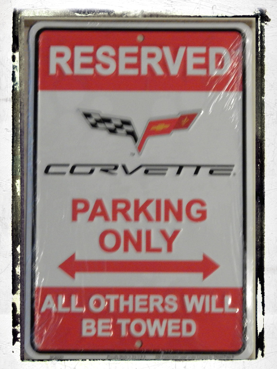 Corvette Parking Only Sign (Small)
