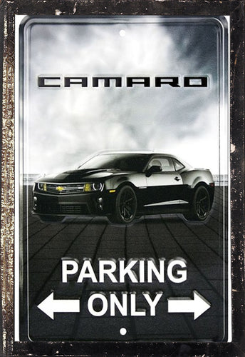 Chevrolet Camaro Parking Only Chevy