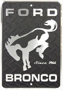 Ford Bronco Small Parking Sign