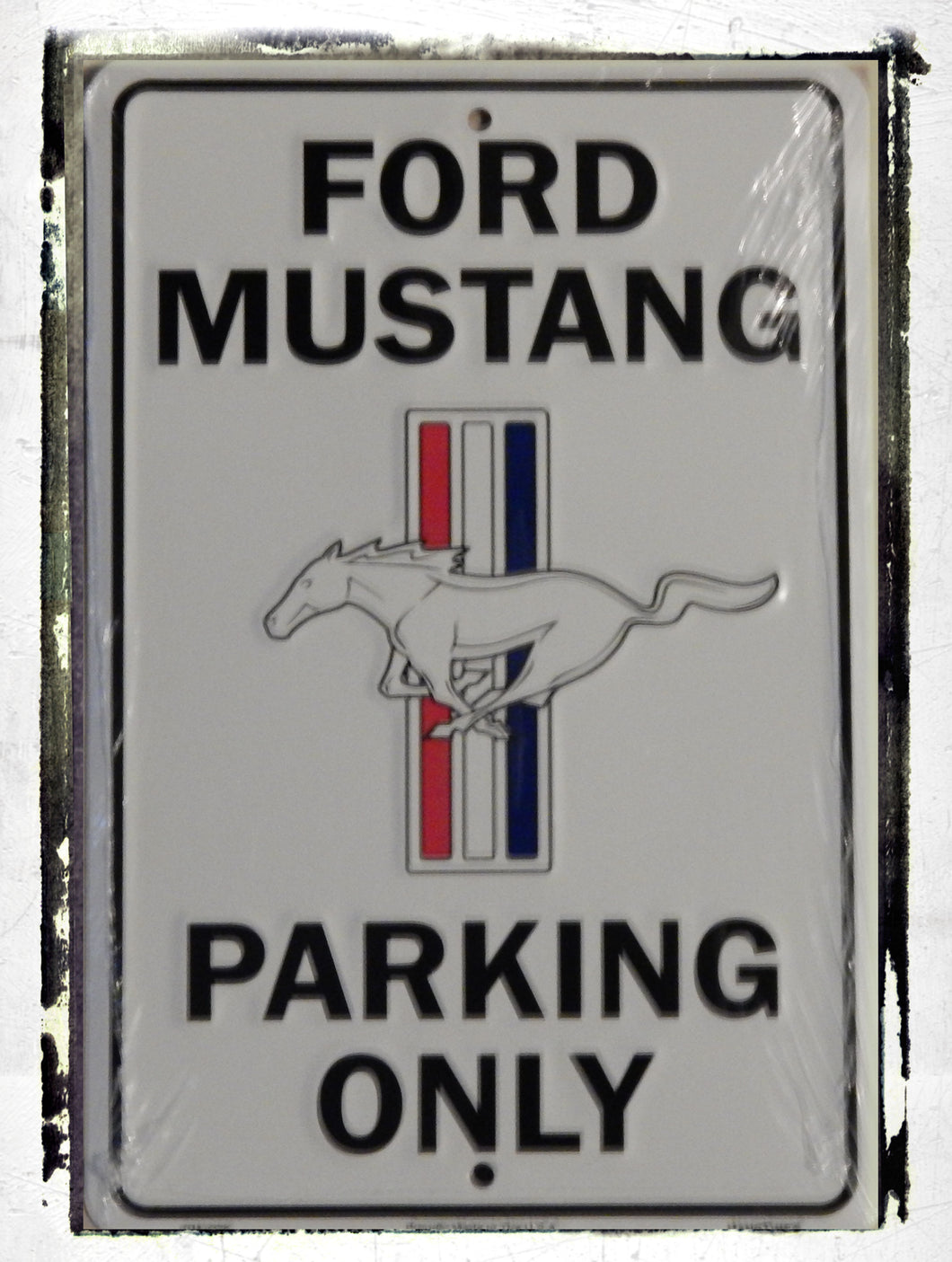 Ford Mustang Parking Sign (Small)