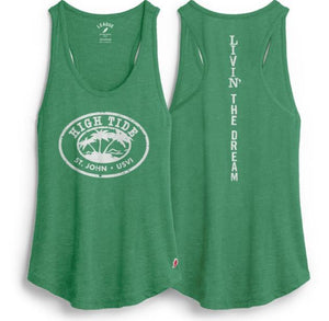 HIGH TIDE LOGO LADIES TANK