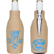 Load image into Gallery viewer, LIVIN' THE DREAM BOTTLE KOOZIE